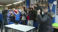 La genial reacción de los jugadores del Alcoyano... cuando les toca el Real Madrid en Copa