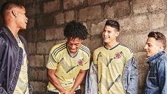 La Selección de Colombia presenta la nueva playera para la Copa América