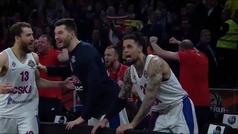 La celebración más íntima del CSKA