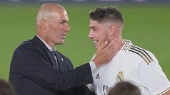 Zidane explica la posición de Fede Valverde