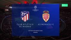 Champions League (J5): Resumen y goles del Atlético 2-0 Mónaco