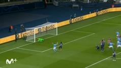 Gol de Mahrez (1-2) en el PSG 1-2 Manchester City
