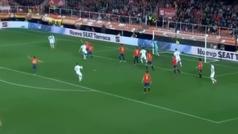 Gol de Joshua King (p.) (1-1) en el España 2-1 Noruega