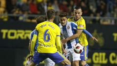Copa del Rey (1/16): Resumen y goles del Cádiz 2-1 Espanyol