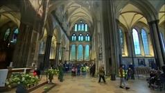 Las catedrales de Inglaterra se convierten en improvisados centros de vacunación