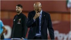 """Zidane: """"No voy a decir que estoy preocupado, pero..."""