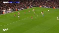 Gol de Pasalic (0-1) en el Manchester United 3-2 Atalanta