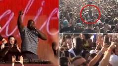 ¡Lo mejor del mes! El loco 'moshing' de Shaquille O'neal entre la multitud del Ultra Music Festival