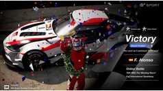 Doble victoria de Fernando Alonso en Fuji Speedway y Le Mans con Gran Turismo Sport