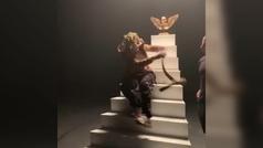 Una serpiente muerde al rapero Lil Pump durante la grabación de un videoclip