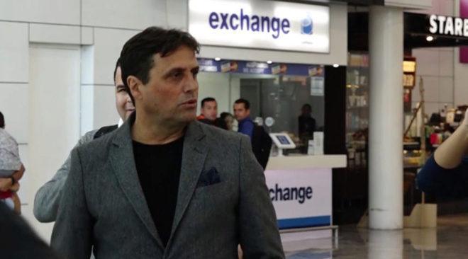 Ángel Guillermo Hoyos arribó a México para firmar con Atlas