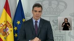 Sánchez anuncia una nueva ampliación del estado de alarma hasta el 26 de abril