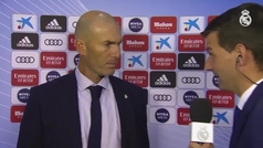 "Zidane: ""Teníamos que haber mandado el balón a tomar por saco"""