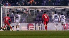 Copa del Rey (octavos, vuelta): Resumen y goles del Valladolid 1-1 Getafe
