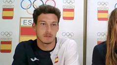 """Pablo Carreño: """"Rafa no está, pero hay equipo y opciones de medalla"""""""