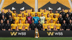 Wolverhampton se viste de gala para la foto oficial de la temporada