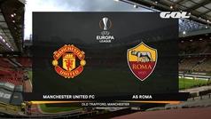 Uefa Europa League (ida semifinales): Resumen y goles del Manchester United 6-2 Roma