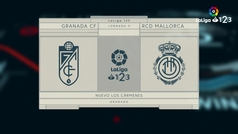LaLiga 123 (J9): Resumen y gol del Granada 1-0 Mallorca