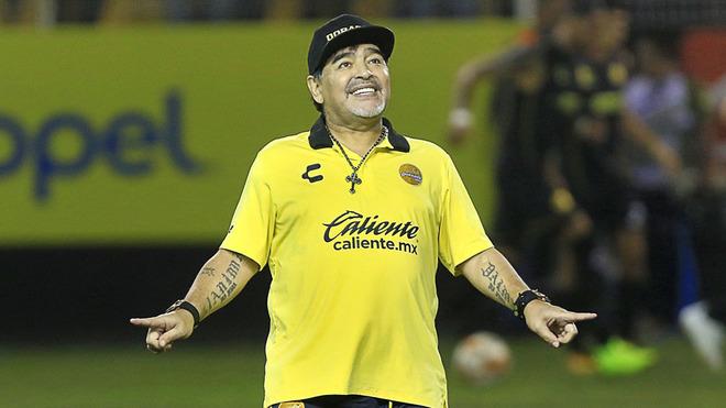 El emotivo mensaje de Maradona a los argentinos en Año Nuevo
