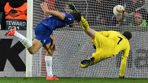 Europa League (cuartos, ida): Resumen y gol del Slavia Praga 0-1 Chelsea
