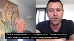 """El día que Cassano descrubrió que Ronaldo """"era dios"""" durante un partido con el Real Madrid"""