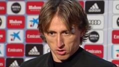 """Modric: """"Hemos demostrado que no se nos ha olvidado jugar"""""""