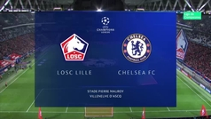 Champions League (fase de grupos): Resumen y goles del Lille 1-2 Chelsea