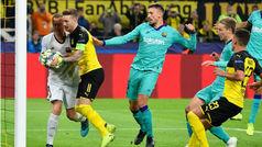 Champions League (Grupo F): Resumen del Borussia Dortmund 0-0 Barcelona