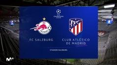 Champions League ( J6 )Resumen y goles del RB Salzsburgo 0-2 Atletico de Madrid