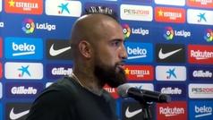 """Arturo Vidal: """"Me ficharon para ganar la Champions"""""""