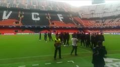 Así fue la llegada de Cristiano a Mestalla
