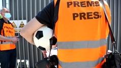 Los fotógrafos de Barcelona piden a LaLiga que les permitan ejercer su profesión