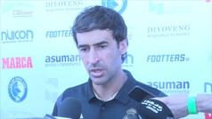 """Raúl: """"Kubo era jugador del primer equipo, le deseo suerte en el Mallorca"""""""