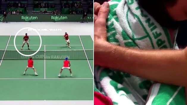 El error garrafal que eliminó a Djokovic... ¡y dejó llorando a su compañero!