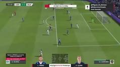 El gol de 'pivot' de Burke que decidió el Levante-Alavés