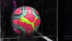 LaLiga presenta su nuevo balón rosa para el invierno