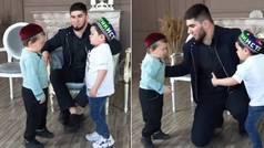 El careo más intenso del año: así fue el pique entre dos niños rusos