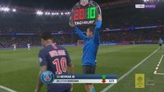 Neymar vuelve a jugar tres meses después