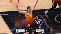 Spurs 110-97 Jazz