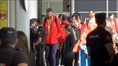 La selección española ya está en Madrid para celebrar el título mundial