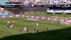 Gol de Brais (p.) (1-3) en el Celta 1-4 Levante