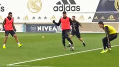 El taconazo de Jovic que mejora a Guti: si hiciera esto en el Bernabéu...