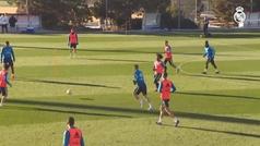 Kroos y Llorente entrenan con normalidad y están listos para el Girona