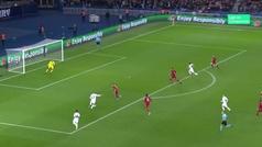 Gol de Bernat (1-0) en el PSG 2-1 Liverpool