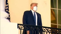 """Trump dice que haberse contagiado de coronavirus """"ha sido una bendición de Dios"""""""