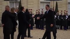 El Rey Felipe VI acude en París a la conmemoración del Armisticio de 1918