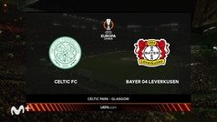 Europa League (J2): resumen y goles del Celtic Glasgow 0-4 Bayer Leverkusen