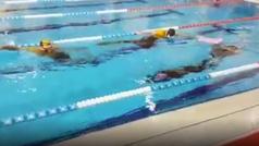 ¡Récord de España! Almu Calvo nada 220 metros en apnea dinámica