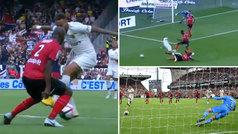 Neymar fabricó un penalti con un regate de fantasía... ¡y lo tiró a cámara lenta!
