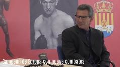 Óscar García Cano, campeón de Europa del peso ligero